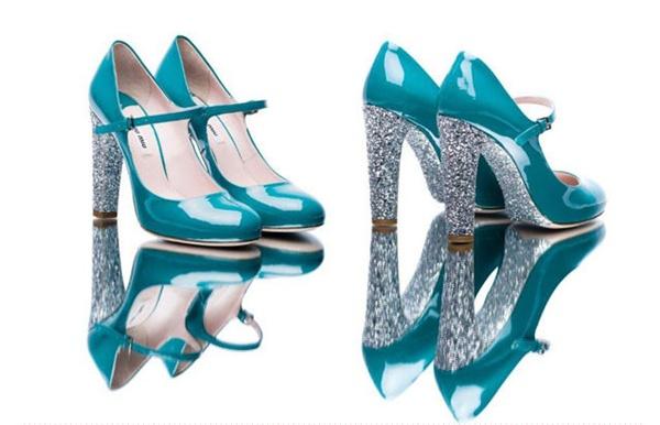 slika 32 Modni zalogaj: Nova kolekcija svetlucavih cipelica Miu Miu
