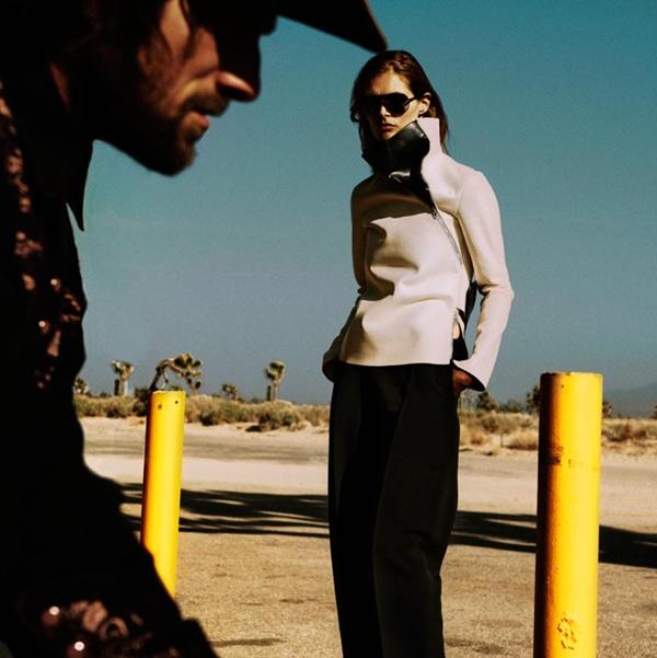 """slika 321 """"Vogue Spain"""": Jesenja moda u pustinji"""