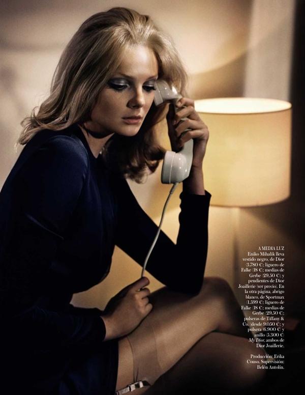 "slika 336 ""Vogue Spain"": Lepotica dana"