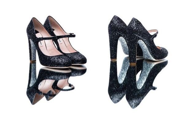 slika 43 Modni zalogaj: Nova kolekcija svetlucavih cipelica Miu Miu