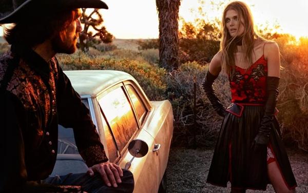 """slika 523 """"Vogue Spain"""": Jesenja moda u pustinji"""