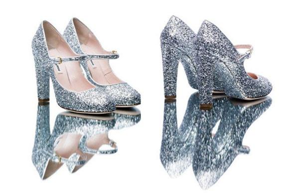 slika 54 Modni zalogaj: Nova kolekcija svetlucavih cipelica Miu Miu
