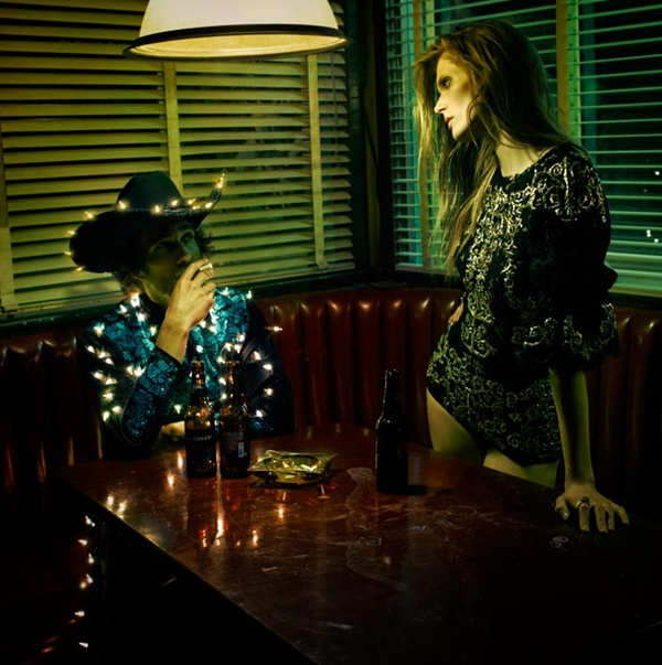 """slika 617 """"Vogue Spain"""": Jesenja moda u pustinji"""