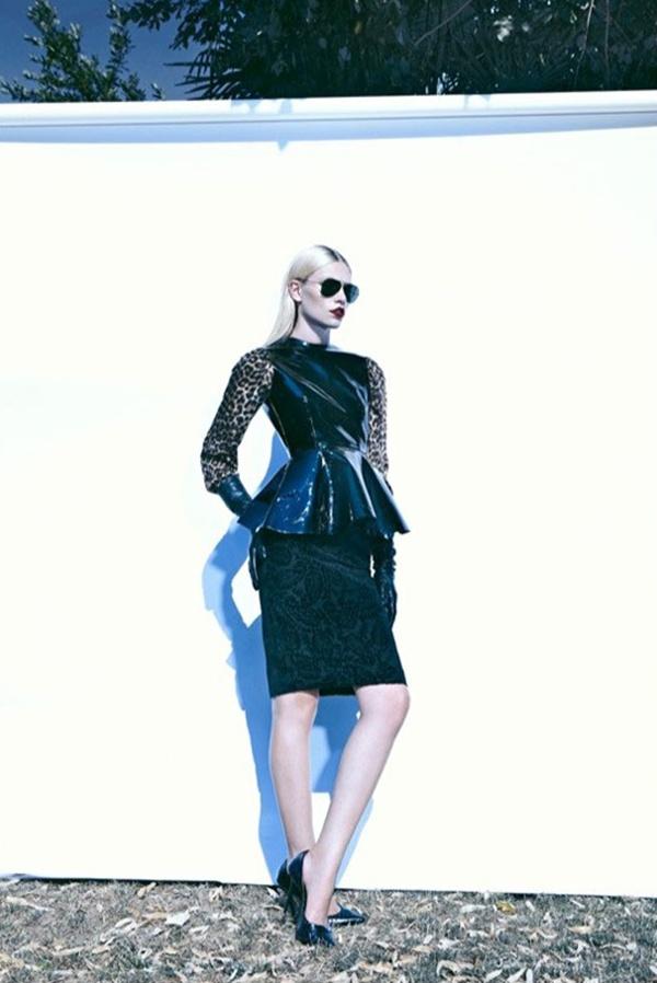 "slika 627 ""Harper's Bazaar Turkey"": Ledena lepota i seksi siluete"