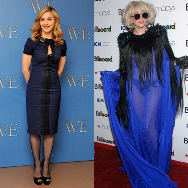 slika 821 Modni dvoboj: Madonna vs. Lady Gaga