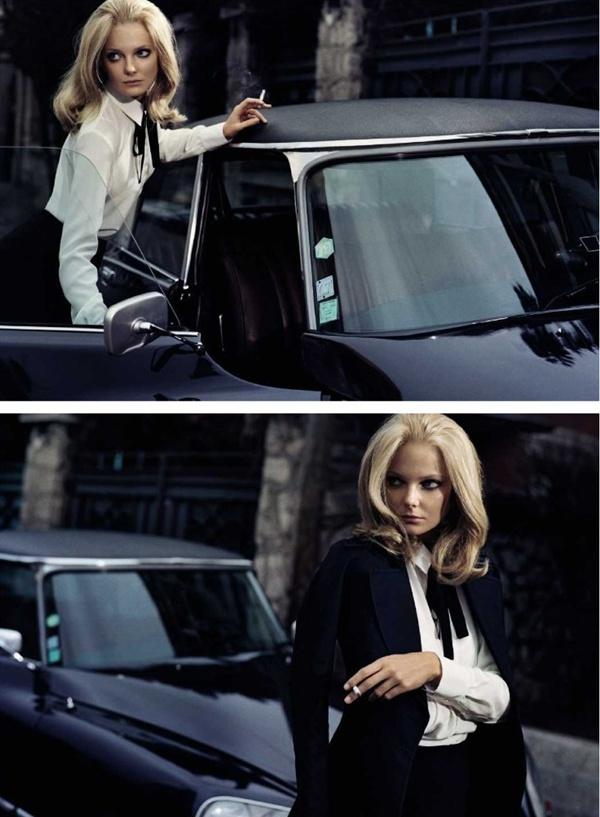 "slika 826 ""Vogue Spain"": Lepotica dana"