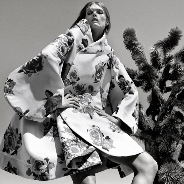 """slika 910 """"Vogue Spain"""": Jesenja moda u pustinji"""