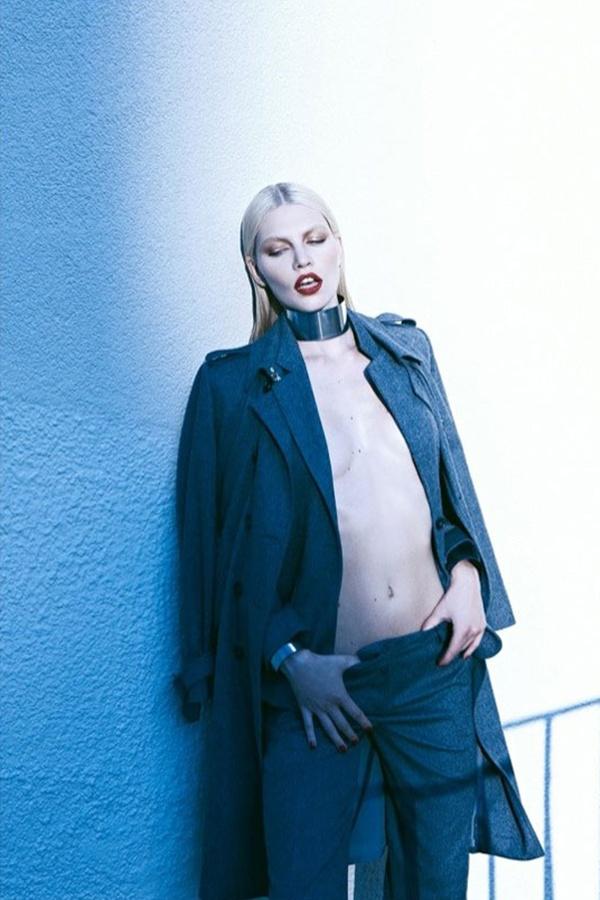 "slika 916 ""Harper's Bazaar Turkey"": Ledena lepota i seksi siluete"