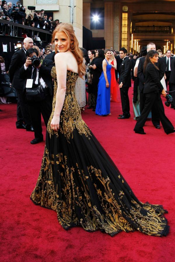 slika140 10 haljina: Jessica Chastain