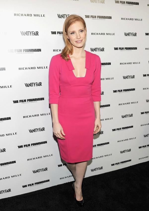 slika235 10 haljina: Jessica Chastain