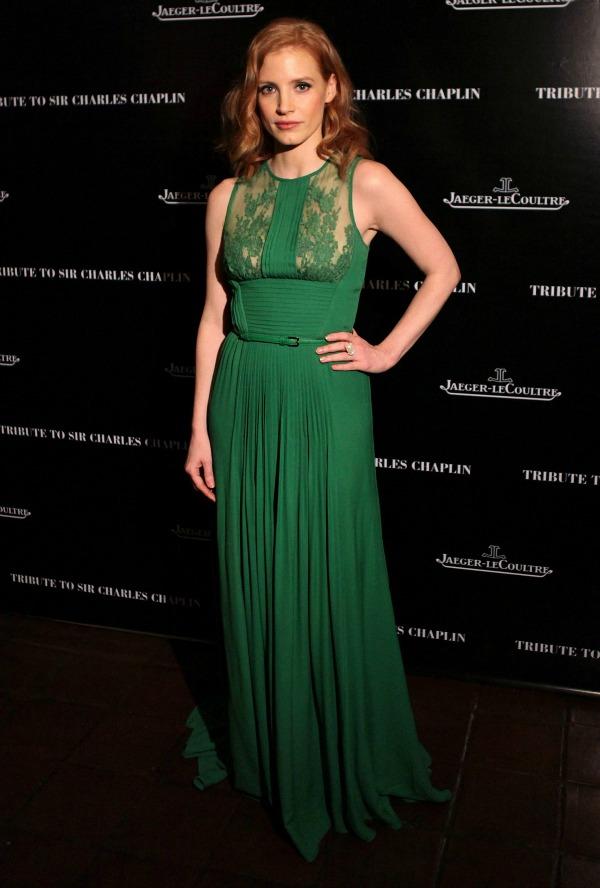slika615 10 haljina: Jessica Chastain