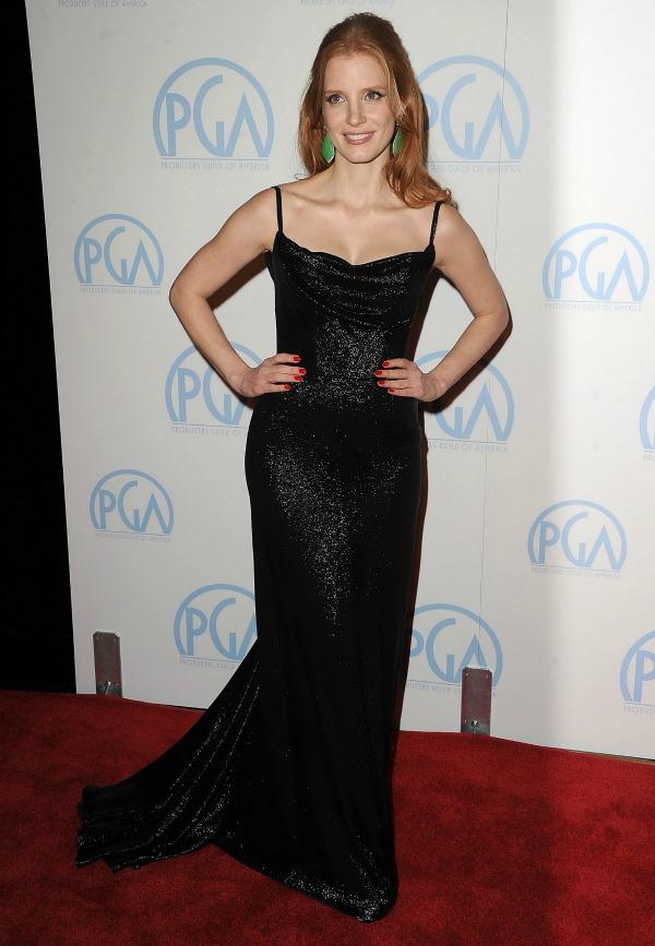 slika87 10 haljina: Jessica Chastain