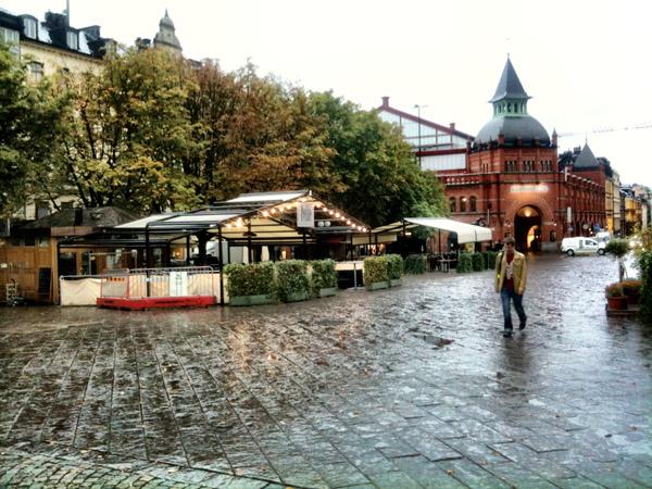 123 Trk na trg: Östermalmstorg, Stokholm