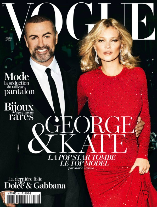 "163 Modni zalogaj: Kate Moss i George Michael za ""Vogue Paris"""