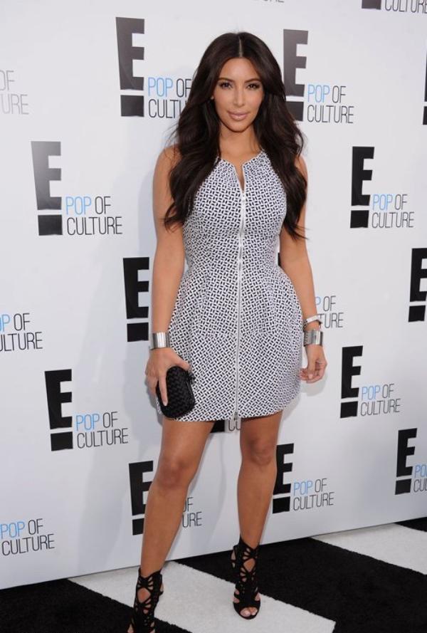 10 haljina: Kim Kardashian