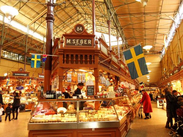 212 Trk na trg: Östermalmstorg, Stokholm