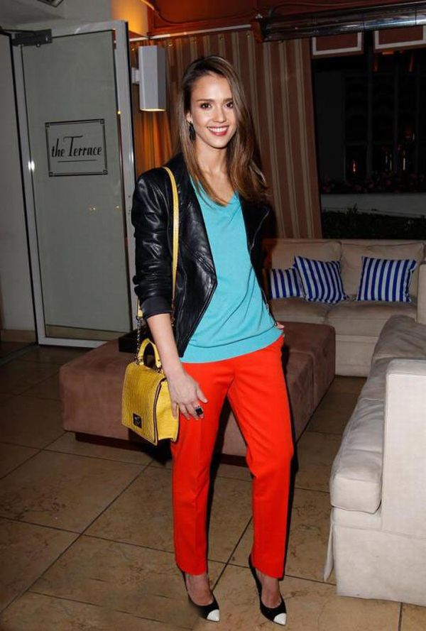 73 10 odevnih kombinacija: Jessica Alba