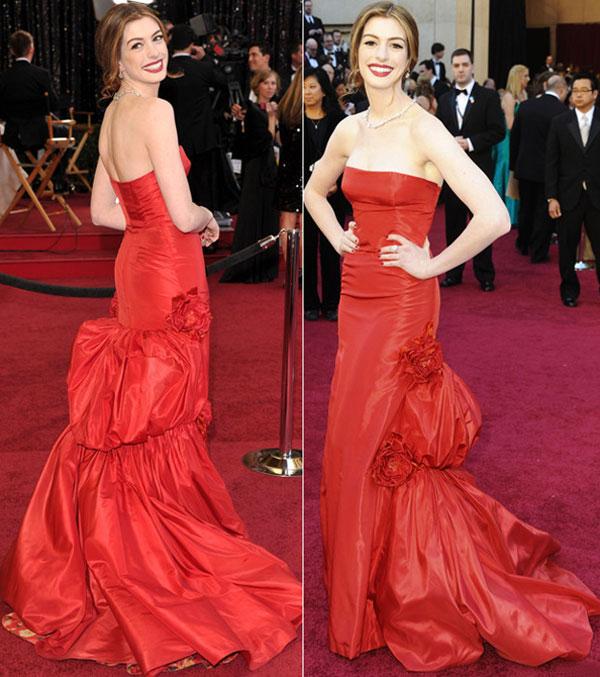 84 10 haljina: Anne Hathaway