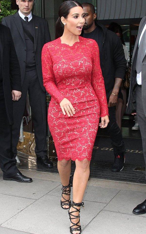 91 10 haljina: Kim Kardashian