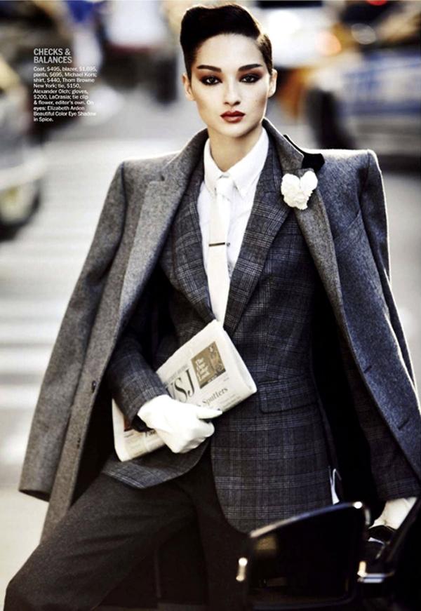 "Bruna Yeste 20120823 07 ""Marie Claire US"": Poslovna moda"
