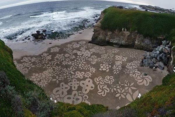 Cvetna pla a  Andrés Amador: Plaža kao slikarsko platno