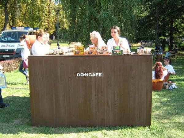 Doncafe na Beogradskom festivalu cveca 2 Beogradski festival cveća i ove godine miriše na Doncafé
