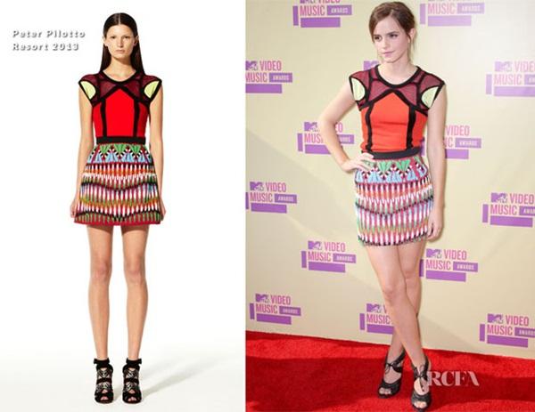 Emma Watson Fashion Police: Video Music Awards