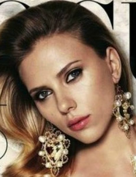 """Modni zalogaj: Scarlett Johansson za """"Vogue Russia"""""""