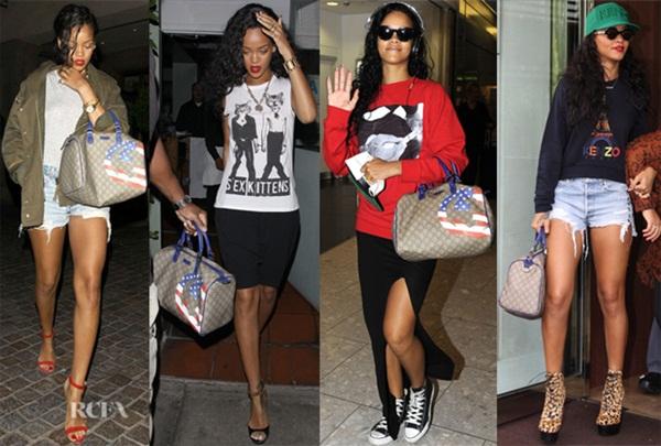 Rihanna Gucci bag Omiljeni predmeti poznatih: Rihanna i Gucci torba