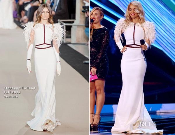 Rita Ora 2 Fashion Police: Video Music Awards