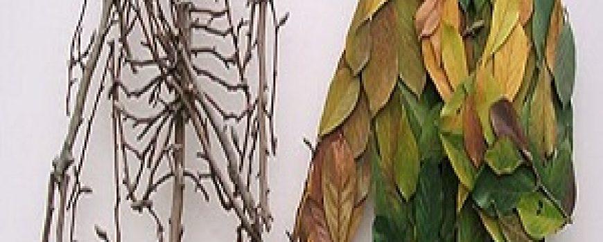 Ron Isaacs: Mrtva priroda oživljena na komadima garderobe