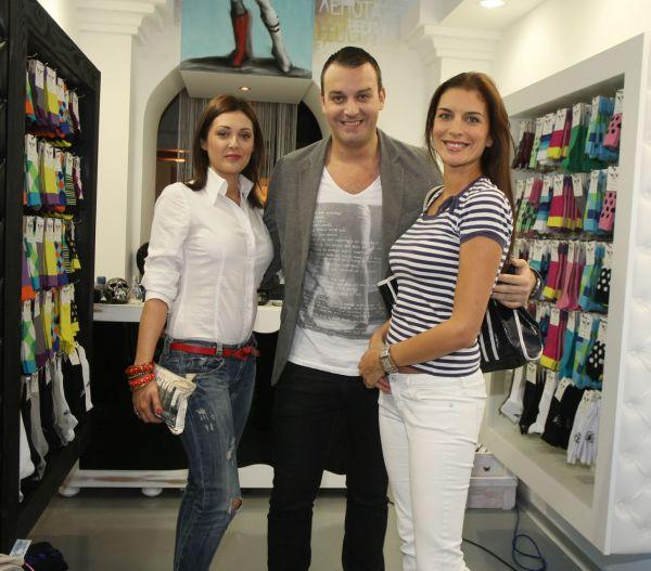 Ruza Ristanovic Boban Spasojevic i Adriana Cortan Novi brend čarapa: Socks from Heaven