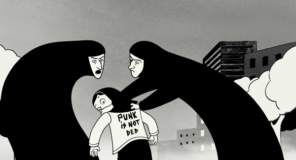 "SLIKA 1 Persepolis Animirani petak: ""Persepolis"""