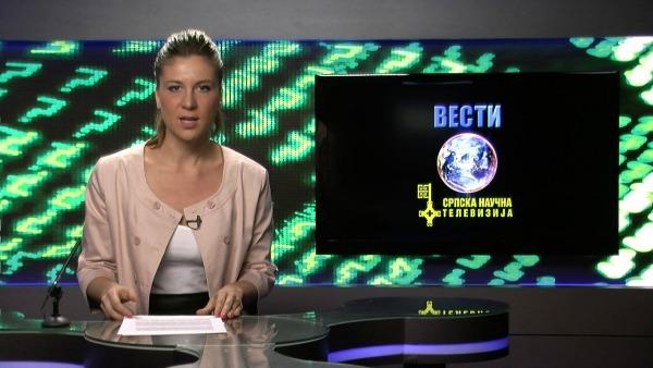 SNT Slika 2. Vesti Srpska Naučna Televizija počinje s radom