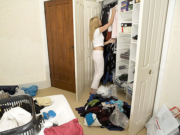 Slika 1 Rascistite garderobu Stepenicama do sreće: Oslobodite se nagomilanih stvari