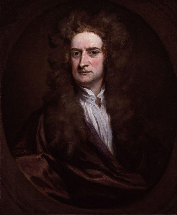 Slika 111 Ljudi koji su pomerali granice: Isaac Newton