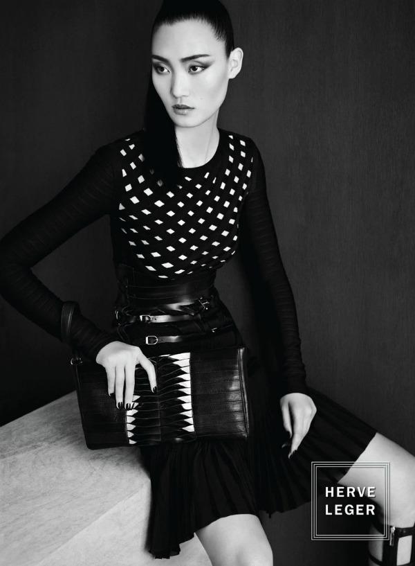 Slika 248 Hervé Léger: Elegancija u koži