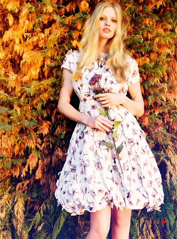 """Slika 65 """"Vogue UK"""": Mračno cvetanje"""
