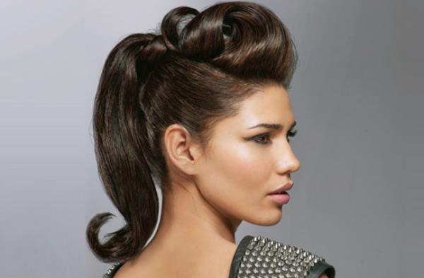 Slika 76 Konjski rep: Od svakodnevne do trendi frizure