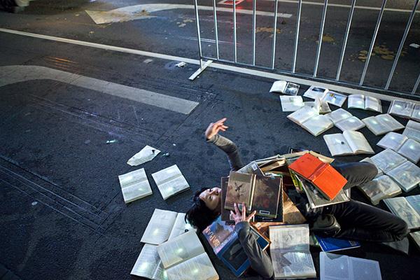"""Slika 78 Projekat: """"Knjigama protiv saobraćaja"""""""