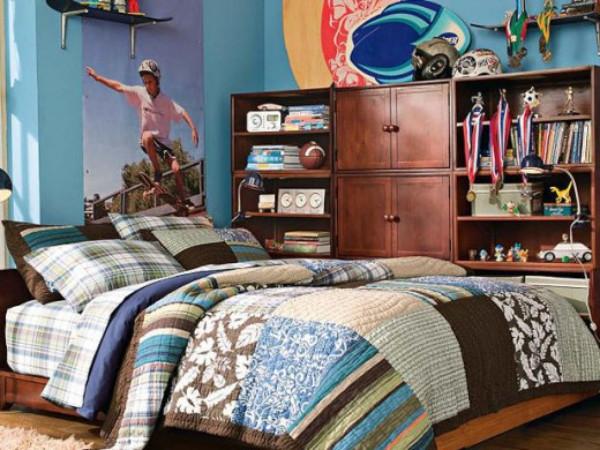 Teen patchwork boys bedroom 520x390 Šta njegov stan govori o njemu