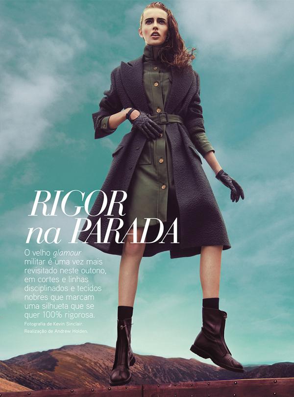 """VogueP02 """"Vogue Portugal"""": Militari trend"""