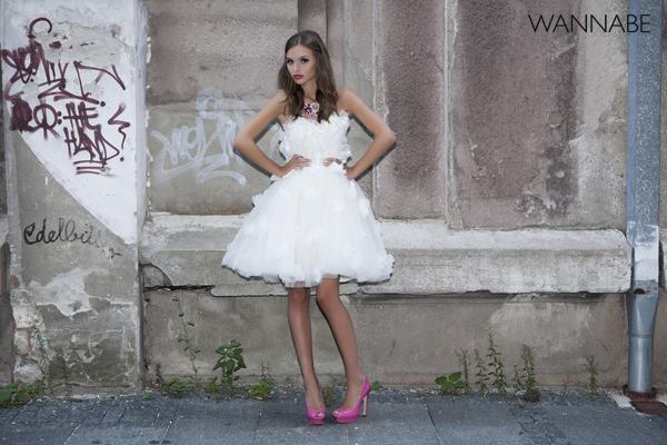 Wannabe 1Bride Wannabe Bride modni predlog: Pink i bela