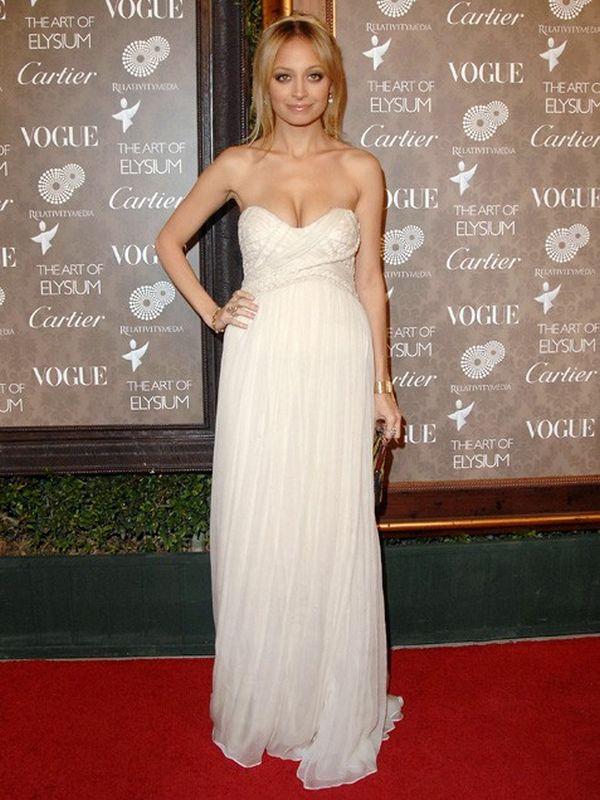 bijela Najbolji modni trenuci Nicole Richie
