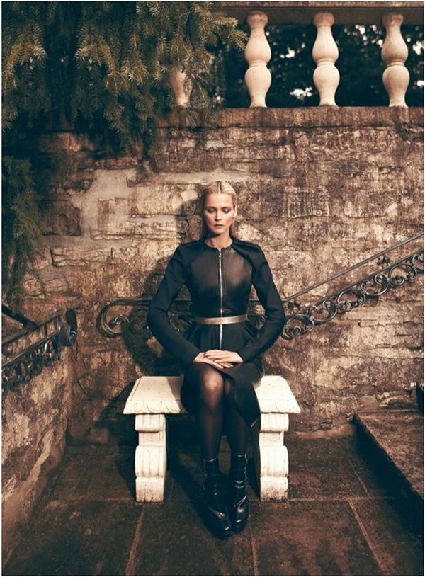 carmen kass10 Vogue Latin America: Carmen Kass, nova Bondova devojka