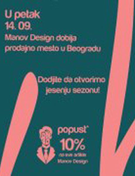 Manov Design u Belgrade Design District-u