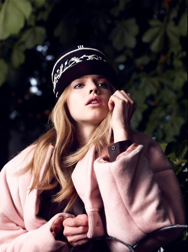 """hanna wahmer vogue germany 4 """"Vogue Germany"""": Kaputi koji će vas ugrejati"""