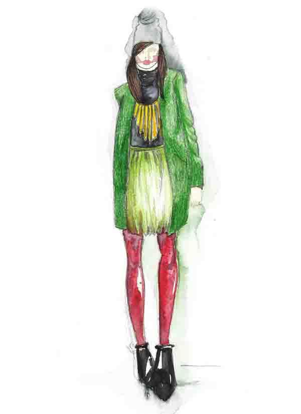 ilustracija Nevena Ivanović: Modna ilustracija kao strast