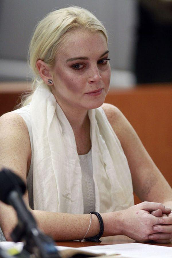 lohan1 Trach Up: Lindsay ponovo gazi