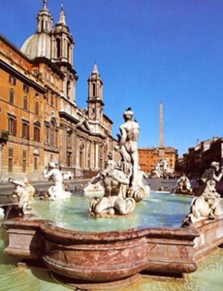 Trk na trg: Piazza Navona, Rim